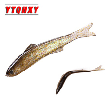 2pcs/lot Soft Fishing Lure Shad Silicone Bass Flexible Minnow Soft Bait Artificial 12.5g/13cm Plastic Lures fishing Tackle WQ120