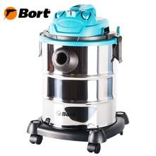 Пылесос для сухой и влажной уборки Bort BSS-1325 (Потребляемая мощность 1300 Вт, мощность всасывания 260 Вт, вместимость пылесборника 25 л, тканевый фильтр)