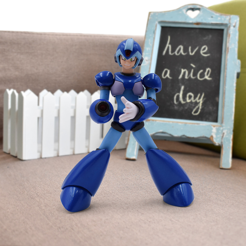 13cm 6'' Anime Mega Man Series Figure Megaman X Action Figure Rockman X Toy D Arts Colllectible Model Toys For Boys Gift Xmas