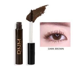 Image 4 - 4 kolory profesjonalny tusz do rzęs wodoodporny oczy kosmetyki przedłużanie rzęs brązowy biały tusz do rzęs makijaż oczu