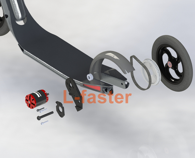 Aliexpress Com Buy Homemade Town 9 Scooter Electric