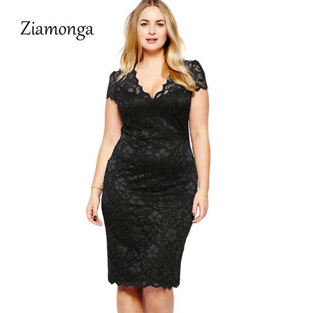 Vestido negro tallas grandes
