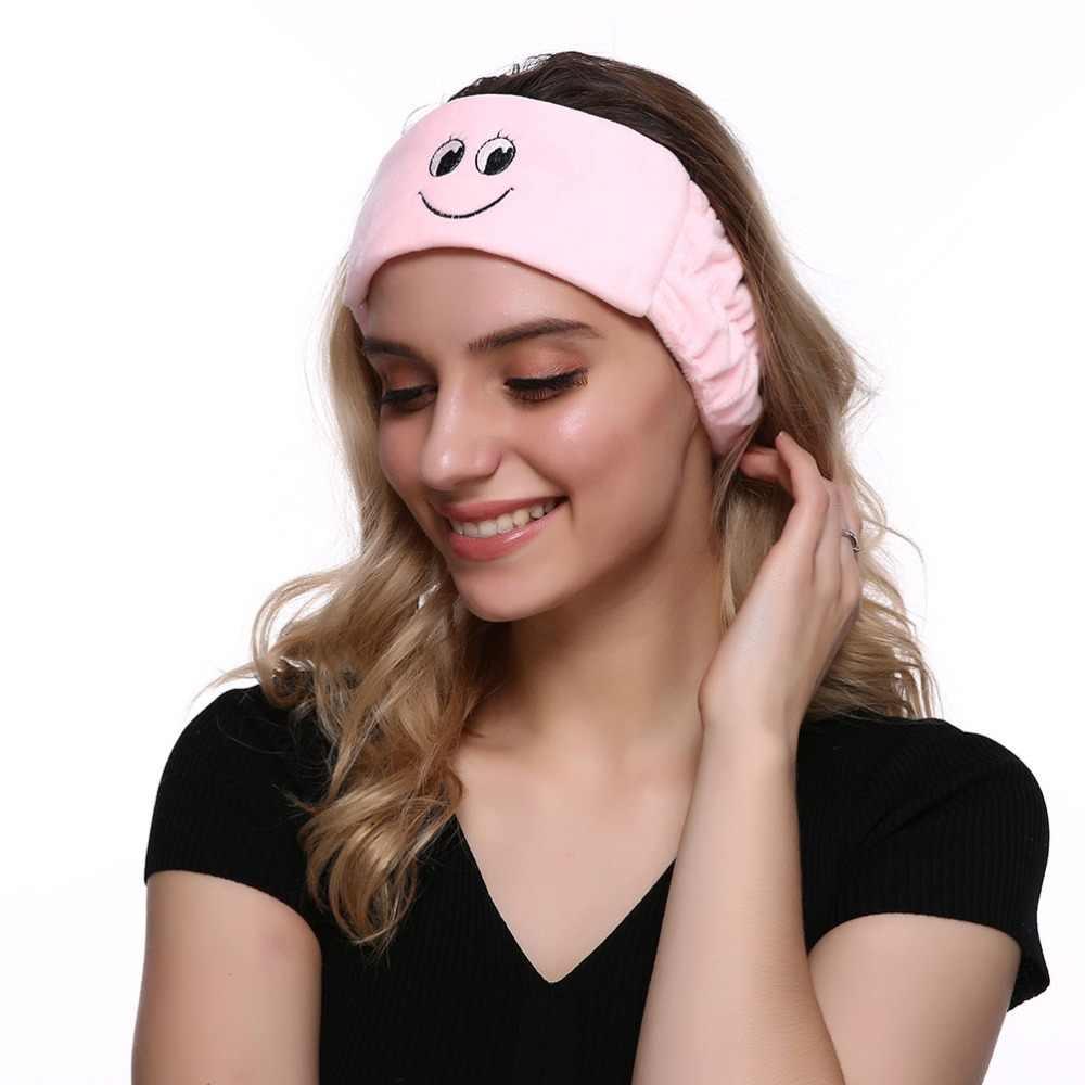Cute Women Elastic HeadBands For Wash Face Make Up Wear Mask Korean  Comfortable Head Band Headwrap d8084510ee8