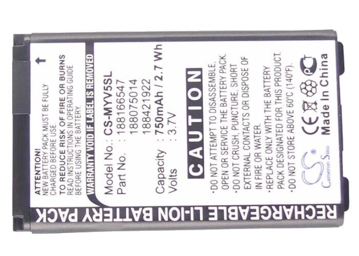 3.7V Li-ion 750mAh Batterie pour SAGEM MYX5 2