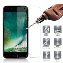 Фотография HOPELF Tempered Glass for iPhone 7 Plus on Glass Screen Protector 9H 2.5D Protection Film for iPhone7 Plus Tempered Glass
