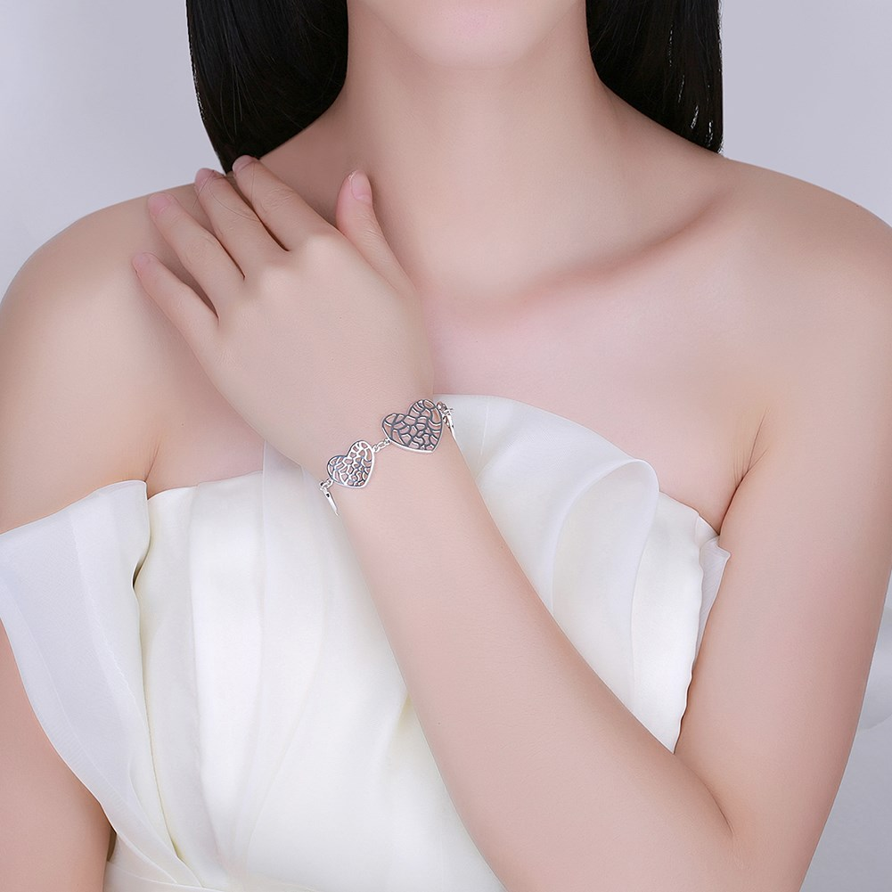 net heart armbanden bilezikleri kurdistan gumus plata plated egito aesthetic greek teacher gift marcas Dahu Rico bracelets