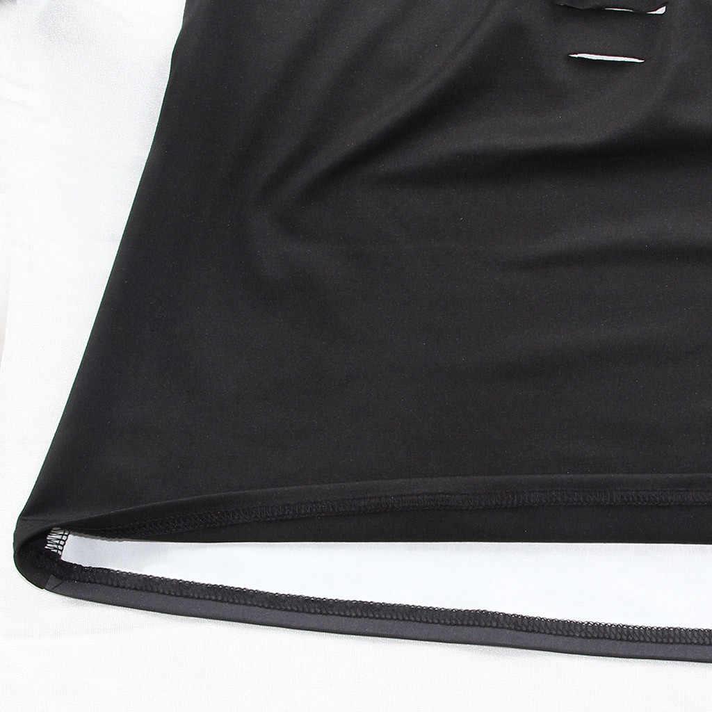 2019 moda bayan moda kadın 3D baskılı köpek kolsuz Tank Tops o-boyun yelek Casual bluz üst yelek T-shirt seksi