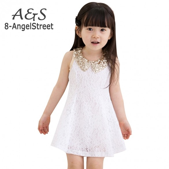 Buy Cheap New Fashion 2016 Girls Clothes Tutu Dress Kids Clothing baby girls Dress princess dress Sequins Collar Black White