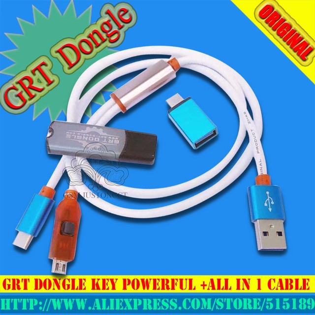 US $16 72 12% OFF|2018 Newest GRT Dongle repair toolsRemove frp imei repair  for oppo vivo Huawei GRT key -in Mobile Phone Adapters from Cellphones &