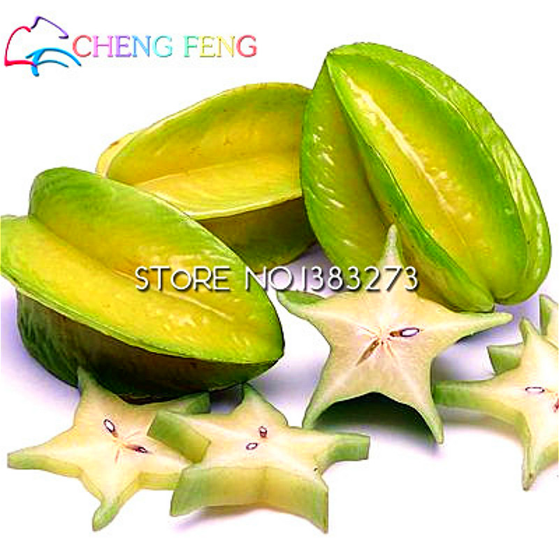 how to grow star fruit from seed