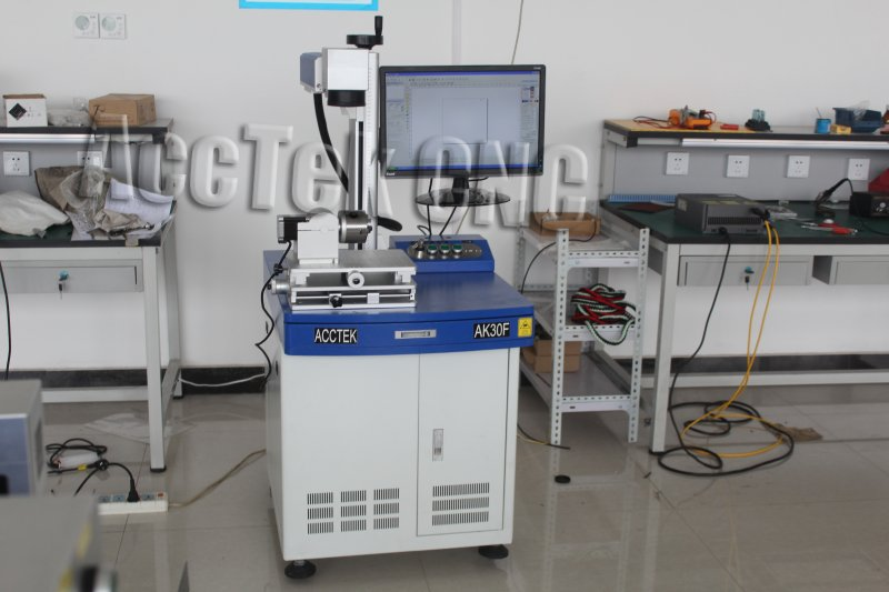Agent Price Cnc Fiber Laser Marking Machine  Marking Stone Leather Nonmetal And Steel