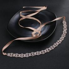 2019 Newest Wedding Belts and Sashes for Dress Alloy Rhinestone Sash Bridal Accessories Ladies