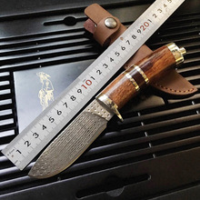 High quality army Survival knife high hardness wilderness knives essential self-defense Camping Knife Hunting outdoor tools EDC