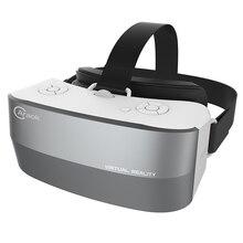 V9 3D VRแว่นตาทั้งหมดในหนึ่งหมวกกันน็อคความจริงเสมือนแว่นตาRam 1กรัมรอม8กรัมสนับสนุนWIFI TFบัตรบลูทูธ5.5นิ้วจอแสดงผลIPS
