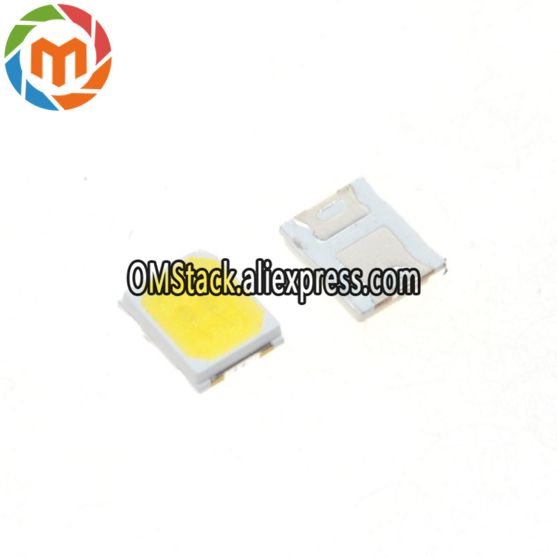 100pcs Lg Led Backlight 1210 3528 2835 1w 100lm Cool White Lcd Backlight For Tv Tv Application Cct 13000-17000k Electronic Components & Supplies