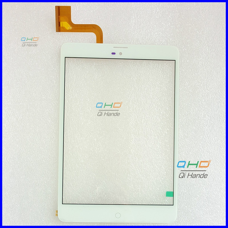 Original New Touch screen Digitizer 7.85 Inch ZTE e-Learning PAD E8Q+ Tablet Touch panel Glass Sensor replacement LCD SCreen new white black 10 1 inch tablet qsd e c100016 02 touch screen digitizer glass touch panel replacement sensor icoo icou10gt