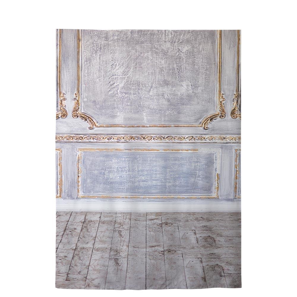 Allenjoy vintage surface frame wooden wall and brown floor indoor ...
