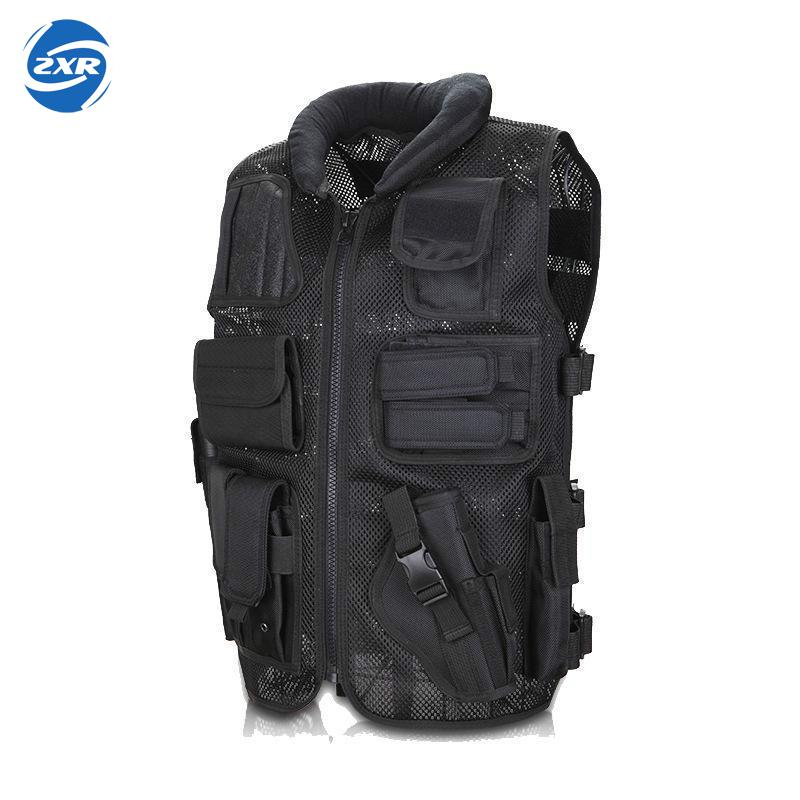 Military Tactical Hunting Vest Army Swat Combat Soldier Airsoft Paintball Vest Uniform Multi Pockets Protective Equipment