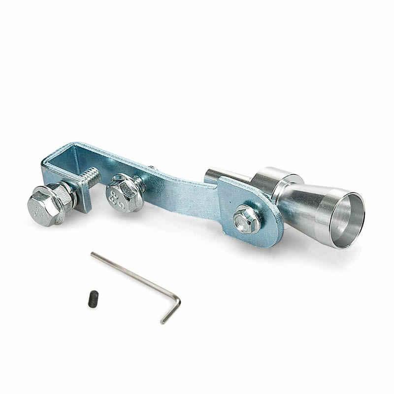 RASTP-универсальный автомобильный турбозвук имитатор глушителя серебристый S/M/L/XL подходит для мотоцикла/автомобиля прямой глушитель RS-TUR006