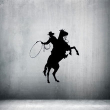 Riding rodeo racing LASSO ROPE Wall Sticker home decoration decal vinyl wall stickers