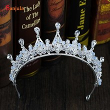 2020 New Crystal Crowns Birthday Princess Tiaras Bridal Wedd