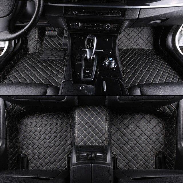 kalaisike Custom car floor mats for Mitsubishi All Model ASX outlander lancer pajero sport pajero dazzle car styling accessories