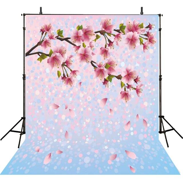 Aliexpresscom Comprar Rosa Fotografía Backdrops Flores Para La