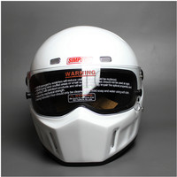 DIY CRG ATV 1 Personalized SIMPSON Sticker Motorcycle Racing Full Face Helmet F1 Capacete De Moto Riding Cascos Motorrad