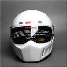 DIY CRG ATV-1 Personalized SIMPSON Sticker Motorcycle Racing Full Face Helmet F1