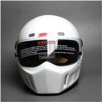 Diy crg ATV 1 personalizado simpson etiqueta da motocicleta de corrida rosto cheio capacete f1 capacete de moto equitação cascos motorrad|Capacetes| |  -