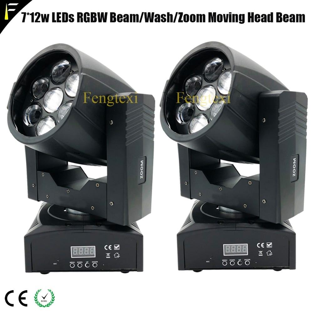 d9703dc2059 Mini zoom 60 grados lavado llevado cabeza móvil 7 xquad color LEDs rgbw  4IN1 12 W zoom luz móvil para disco party luz medio etapa en Efecto de  etapa de ...