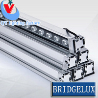Venta 4 Uds DHLFedex DMX512 24W LED bañador de pared lámpara de pared arandela de iluminación de