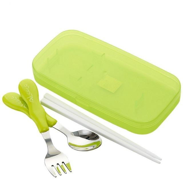 Da criança do bebê crianças dinnerware pratos pratos de comida colher garfo prática de aprendizagem das crianças suporte de alimentação do bebê talheres