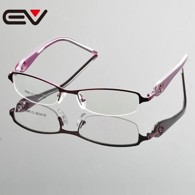 2015 Do Sexo Feminino Bussiness lente Frame Ótico Para Myopa Mulheres Novo Design de Moda Quadro Miopia Óculos Comerciais Quadro EV0862
