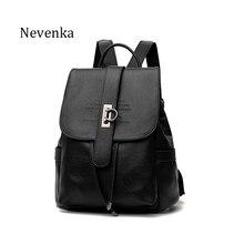 Nevenka Frauen Taschen Mode Softback umhängetaschen Pu-leder Rucksack dame Reisetasche Adrette Offene Tasche