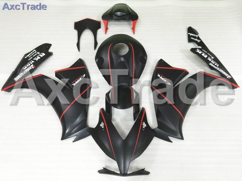 где купить Motorcycle Fairings For Honda CBR1000RR CBR1000 CBR 1000 2012 2013 2014 12 13 14 ABS Plastic Injection Fairing Kit Black A570 по лучшей цене