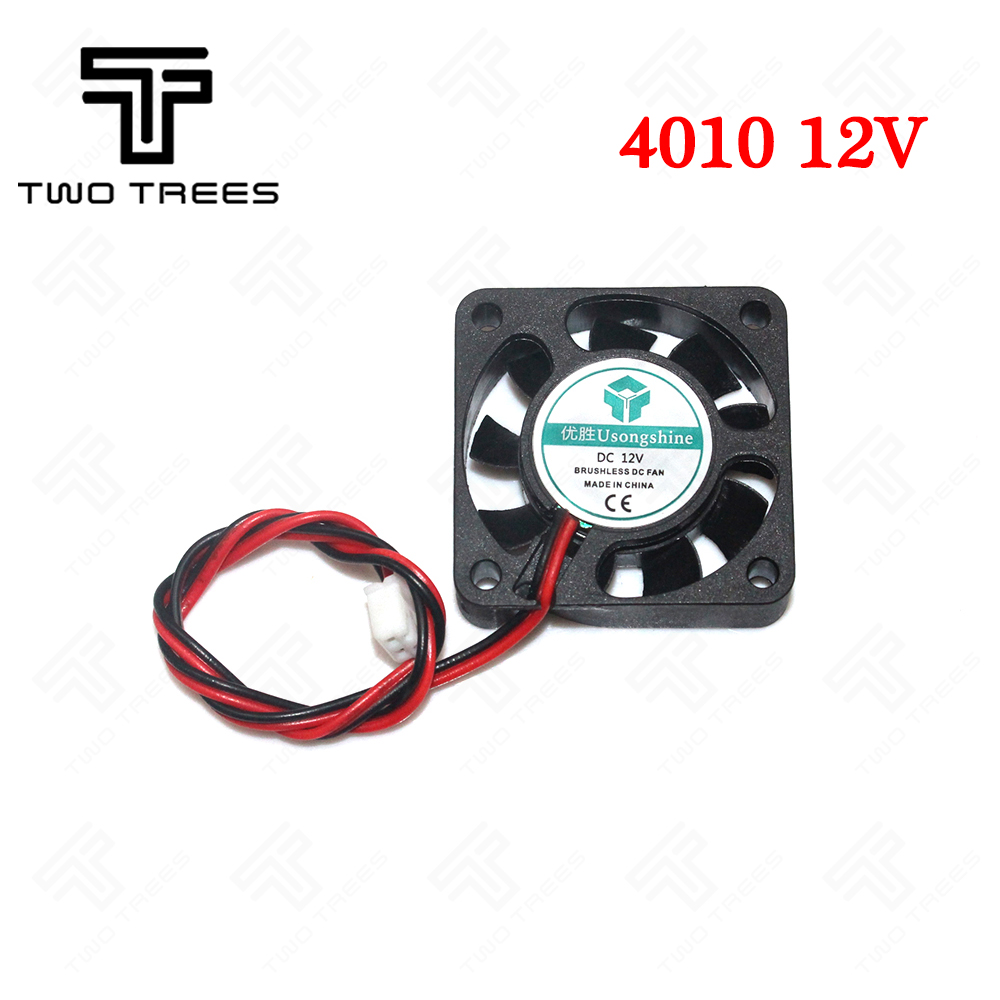Free shipping!!! 3D printer Fan Cooling fan 4010 24V ( 40*40*10mm ) 4010 5/12/24 V Brushless DC Fans for heatsink cooler cooling free delivery 109 e1324g101 dc 24 v 1 1 a third line 12 7 cm aluminum frame a cooling fan