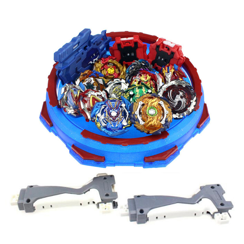 Hot 12 set <font><b>Beyblade</b></font> Arena Spinning Top Metal Fight Bey blade Metal Bayblade Stadium Children Gifts Classic Toy For Child image