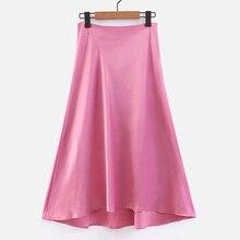 b6b2e2a12 Compra long satin skirts y disfruta del envío gratuito en AliExpress.com
