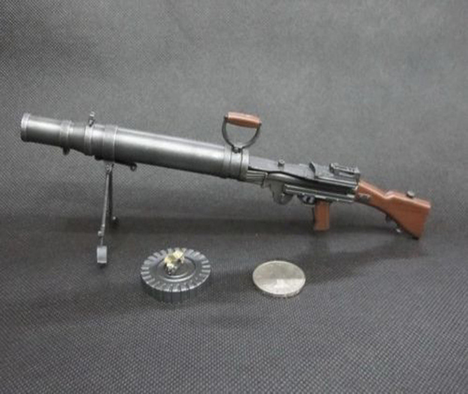 Hobby Gifts Collections 1/6 Scale Light Machine Gun Model Toys WWI UK Lewis M1914 7.7mm Model For 12   Action Figure Accessory new phoenix 11207 b777 300er pk gii 1 400 skyteam aviation indonesia commercial jetliners plane model hobby
