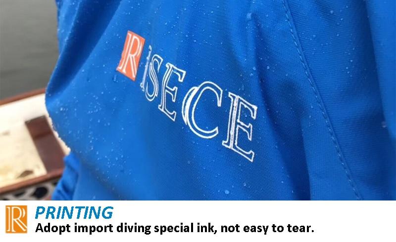 waterproof jacket printing