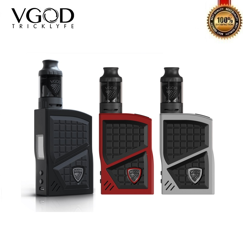 Original VGOD Pro 200 Kit 220W Box Mod with 4ml VGOD Sub Ohm Vape Tank Electronic Cigarette Kit Vaporizer VS Revenger Lostvape