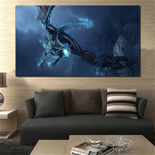 World Of Warcraftes Fantasy Dragon Ultra Canvas Painting Prints Bedroom Home Decor Modern Wall Art Painting Posters Pictures HD
