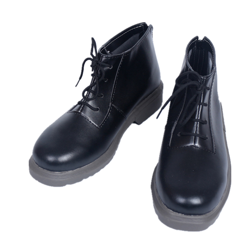Persona 5 PA5 Joker Black Cosplay Shoes Custom Made Black Shoes For Halloween