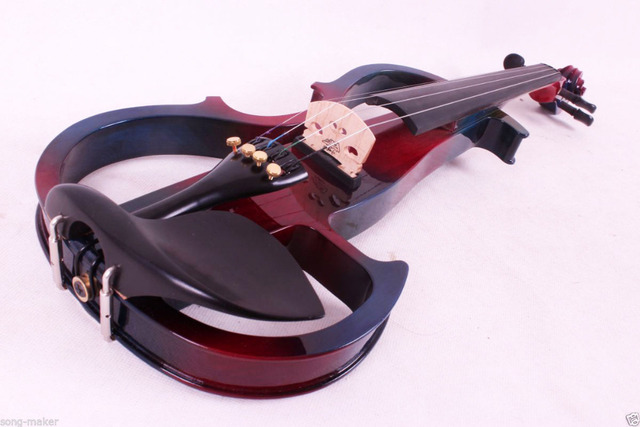 Fishion Electric Violin Left Hand Powerful Sound Reverberation 4/4 Yinfente Profession 2