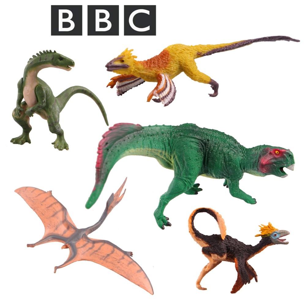 Yassfen Walking With Dinosaurs Sinosauropteryx Sinornithosaurus Millenii Psittacosaurus Pterosauria Plateosaurus Toy Model