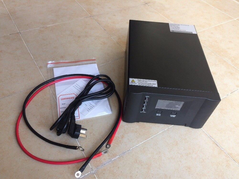 Hybrid Inverter 500W 12V24V10A to AC220 110V 50 60HZ Pure Sine Wave Inverter with Built in