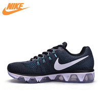 Nike Original New Arrival Official Air Max Men's Whole Palm Cushioning Breathable Running Shoes Sneakers 805941 005