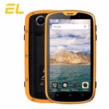 EL W5 4G Mobile Téléphone 4.0 Pouces MTK6735 Quad Core 1 GB + 8 GB Téléphones Cellulaires IP68 Double Sim Téléphones Étanche Antichoc Smartphone