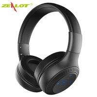 Original ZEALOT B20 On Ear Wireless Bluetooth Headphones With HD Sound Bass Stereo Headphone With Mic